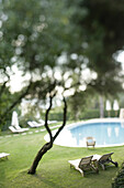 Luxury hotel Vila Joya in the Algarve region of southern Portugal.