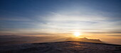 Sunrise from Adam's Peak (Sri Pada), Sri Lanka, Asia