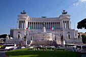 Victor Emmanuel Monument, Rome, Lazio, Italy, Europe