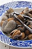 Almonds and nutcracker