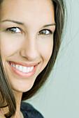 Female smiling at camera, portrait