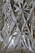 Crystal glass, full frame