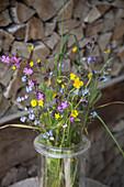 Close-up of flower vase