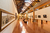 Exhibition of modern Balinese paintings, art museum Puri Lukisan, Ubud, Bali, Indonesia