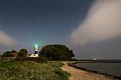 Buelk Lighthouse, Kiel Fjord, Baltic Sea, Strande, Kiel, Schleswig-Holstein, Germany
