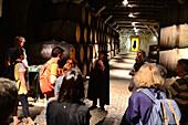 Portwine cellar Sandeman in Vila Nova de Gaia, Porto, Portugal
