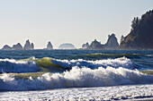 Rialto Beach, West Coast, Olympic Peninsula, Olympic Nationalpark, Washington, USA