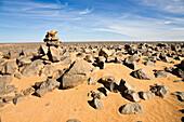 Stony Desert, Black Desert, Libya, Africa