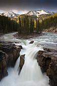 Sunwapta River, Jasper National Park, Icefields Parkway, Alberta, Rocky Mountains, Canada
