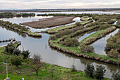 country house, casone, fish ponds, Valle Zappa, hunting and fishing, Lagoon, Venice, Italy