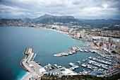 Port of Calpe, Alicante, Spain.