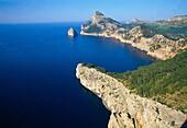 Coastline. Formentor Cape, Mallorca island, Balearic Islands, Spain.