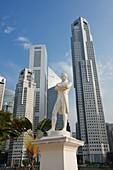 The Raffles' Landing Site, Singapore.