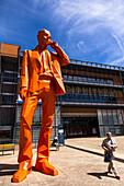 PALAIS DE CONGRES, CITE INTERNATIONAL, LYON, FRANCE, Architect RENZO PIANO BUILDING WORKSHOP. Cite Centre de Congrès Lyon, Lyon Convention Center, France, Europe