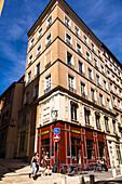 Montée de la Grande Cote, Croix Rousse, Lyon, France