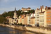 Saône, Quai Romain Rolland, Lyon, Rhône-Alpes region, department of Rhône, France, Europe