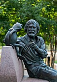 Jim Henson Memorial, University of Maryland, Maryland, USA.