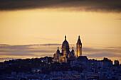 France, Paris, Sacre Coeur Basilica.