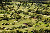 Hawaii, Maui, Aerial Of Wailea Gold Golf Course