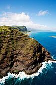 Hawaii, Oahu, Makapu'u Lighthouse, Easternmost Point On Oahu