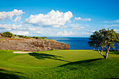 Hawaii, Lanai, The Challenge At Manele Golf Course.