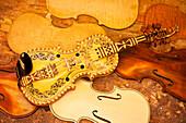 Hardanger Fiddle, Handmade By Craftsman In Maple Ridge, British Columbia