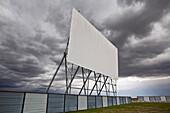 'Abandoned drive-in movie theater; Winnipeg, Manitoba, Canada'