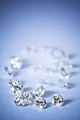 Belgium Cut, Non-Conflict Diamonds, Round Brilliant Cut.