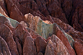 Brightly-Coloured Quebrada De Humahuaca Canyon. Jujuy Argentina
