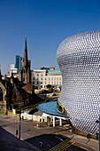Uk, England, Birmingham Selfridges Skyline Daytime.