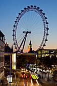 Uk, England, London, Houses Of Parliament, Westminster, Dusk