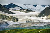 Gakona glacier, Alaska range mountains, Interior Alaska