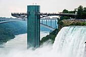 'Sightseeing at Niagara Falls; Niagara Falls, New York, United States of America'