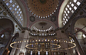 'Interior of an islamic mosque; Istanbul, Turkey'