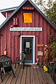 Halibut Cove Coffee House, Halibut Cove, Kachemak Bay, Southcentral Alaska.
