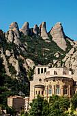 'Benedictine Abbey; Montserrat, Catalonia, Spain'