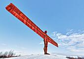 'Angel of the North; Gateshead, Tyne and Wear, England'