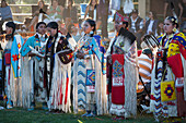 'Pow Wow at Kainai Nation Indian Reservation south of Fort Macleod; Alberta, Canada'