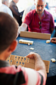 'Men playing a game; Urgup, Cappadocia, Turkey'