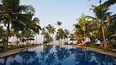 'Neeleshwar hermitage hotel pool; Kerala, India'