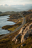 'The Golden Road; Isle of Harris, Outer Hebrides, Scotland'