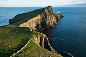 'Lighthouse at Neist Point; Isle of Skye, Hebrides, Scotland'
