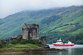 'Eilean Donan Castle at Loch Duich, near Dornie; Western Highlands, Scotland'