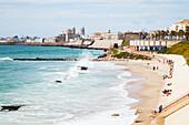 'Enjoying the waterfront; Cadiz, Andalusia, Spain'