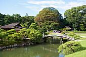 'Koraku-En Gardens; Okayama, Okayama Prefecture, Japan'