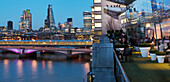 'City panorama from Oxo; London, England'