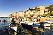 'Porto Venere at dawn; Porto Venere, Liguria, Italy'