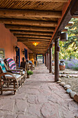'Adobe and Pines Inn, a historic Bed and Breakfast; Rancho de Taos, New Mexico, United States of America'