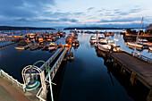 'Nanaimo Harbour at sunrise; Nanaimo, British Columbia, Canada'