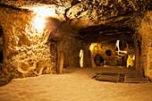 'Kaymakli underground City; Kaymakli, Cappadocia, Turkey'